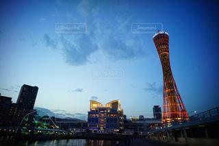 神戸ポートタワーの写真・画像素材[687395]