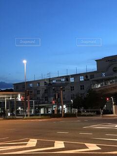 駅,夕暮れ,景色,熊本,九州