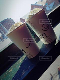 カフェ,海,スターバックス