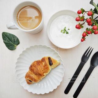 コーヒー,COFFEE,ランチ,ヨーグルト,クロワッサン,珈琲,お家