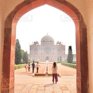 インドのフマユーン廟の写真・画像素材[821889]