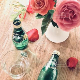 ペリエと薔薇の写真・画像素材[902585]