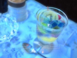 喫茶ソワレのゼリーポンチの写真・画像素材[908178]