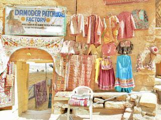 インド 砂漠の街ジャイサルメールの写真・画像素材[1818484]