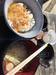 ほったらかし温泉での朝食の写真・画像素材[2482108]