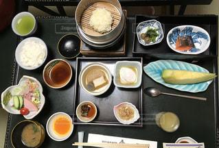 阿智村にて朝食の写真・画像素材[2482160]