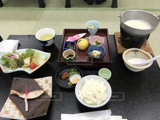 西浦温泉にて朝食の写真・画像素材[2482948]