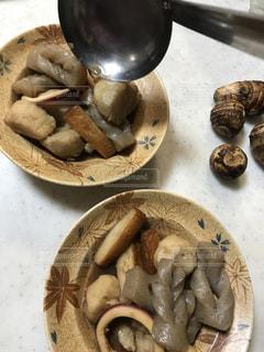 食べ物の皿の写真・画像素材[2813150]