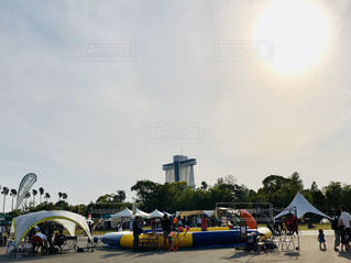 空,太陽,光,イベント,テント,OUTDOORDAY JAPAN NAGOYA