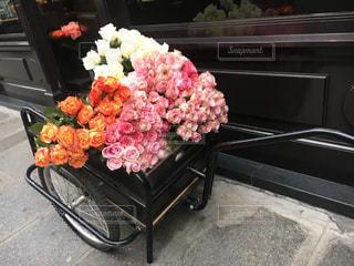 パリ 花屋の写真・画像素材[1404218]