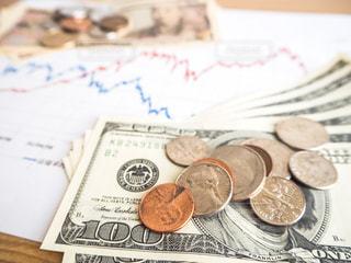 株価 チャート 投資の写真・画像素材[1099645]