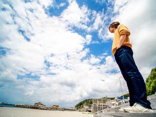 神津島のビーチの写真・画像素材[1116803]