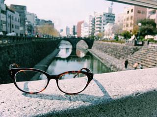 長崎のメガネ橋の写真・画像素材[1385387]