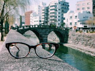 長崎の眼鏡橋の写真・画像素材[1385427]