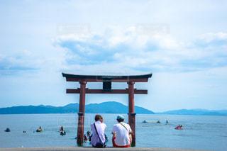 滋賀県の白鬚神社の写真・画像素材[1410782]