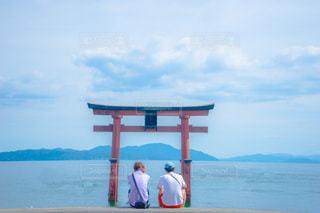 滋賀県の白鬚神社の写真・画像素材[1410783]