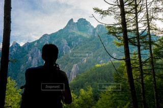 金峰山のトレッキングの写真・画像素材[1416350]