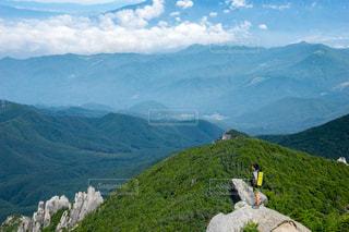 金峰山の登山の写真・画像素材[1417888]
