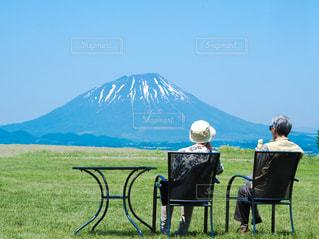 老夫婦の散歩の写真・画像素材[1457168]