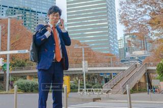 電話中のビジネスマン 営業の写真・画像素材[1667024]