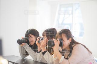 カメラ女子会の写真・画像素材[1846453]