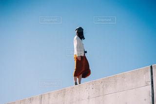 1人の女性の写真・画像素材[2751817]