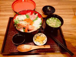 秋,ホテル,海鮮丼,夕食,食欲