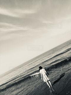 砂浜のビーチの写真・画像素材[813239]