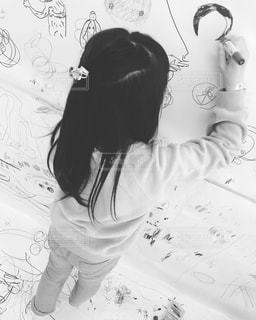 子ども,イラスト,女の子,手書き,落書き,ドラえもん,手書きイラスト,落書き部屋