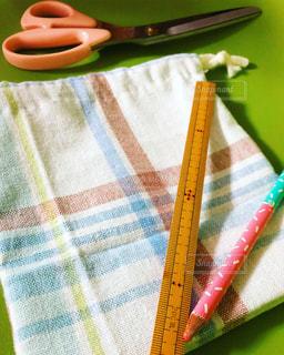 手作り巾着の写真・画像素材[3111433]