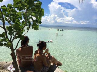 海,水着,日焼け,常夏,summer,ハネムーンビーチ