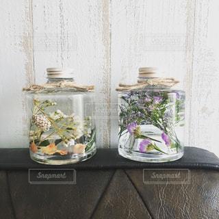 インテリア,花,花瓶,花びら,プレゼント,雑貨,カーネーション,インテリア雑貨,ハーバリウム,スターチス,植物標本,ブルーファンタジア