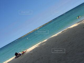 海,水着,ハワイ,カイルアビーチ,ビーチ日和