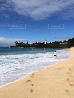 海,水着,ハワイ,ノースショア,ビーチ日和
