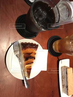 ケーキ,コーヒー,リビング,家カフェ,ダイニングテーブル