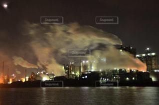 夜景,工業地帯,北九州