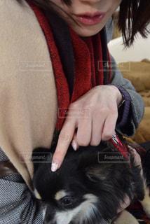 犬を持つ女性 - No.880317