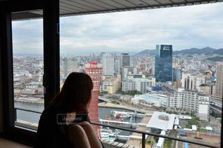 神戸の街を特等席からの写真・画像素材[1280106]