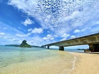 沖縄古宇利大橋の写真・画像素材[3342784]