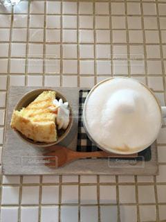 カフェ,オシャレ,カプチーノ,千葉県,プチサイズ,スポンジケーキ,Gardenhouse cafe