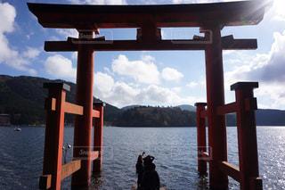 神奈川、箱根神社の写真・画像素材[966592]