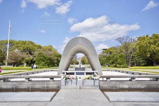 平和記念公園 原爆ドームの写真・画像素材[1120861]