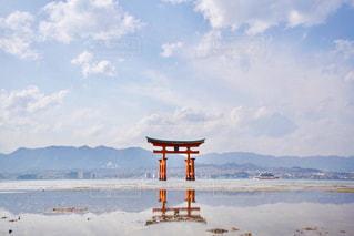 宮島、厳島神社。の写真・画像素材[1201955]