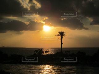 海,ビーチ,沖縄,景色,旅行,サンセット