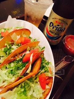 食べ物,沖縄,旅行,ビール,オリオン,タコス