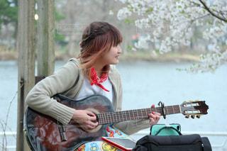 ギターの写真・画像素材[838461]