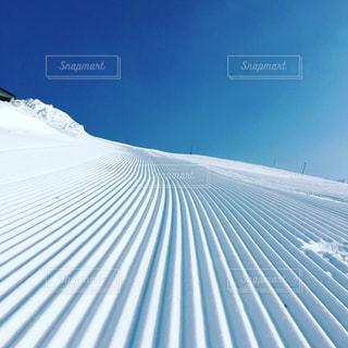 雪に覆われた斜面の写真・画像素材[925491]