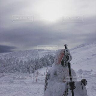 山形蔵王地蔵山山頂の写真・画像素材[1021006]