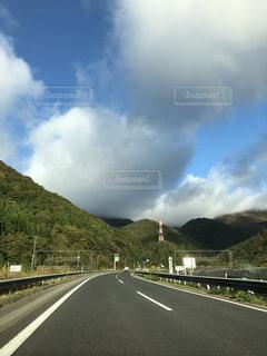 風景,空,秋,高速,秋空,お出かけ,東北道