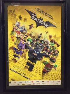 プラハ レゴ バットマン 広告の写真・画像素材[620131]